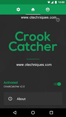 تطبيق CrookCatcher لتصوير اي شخص يحاول سرقة هاتفك