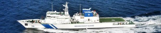 L&T-Built Offshore Patrol Vessel ICGS Vigraha Commissioned Into Indian Coast Guard