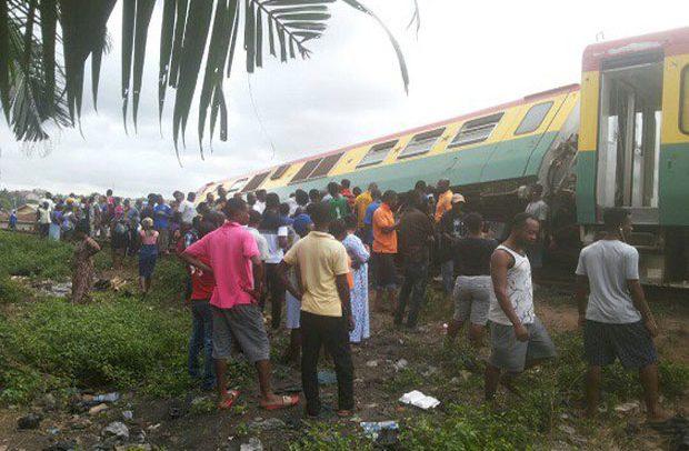Accra-Bound Train Derails, Leaves Scores Injured