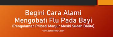 Begini Cara Alami Mengobati Flu Pada Bayi (Pengalaman Pribadi Manjur Meski Sudah Balita)