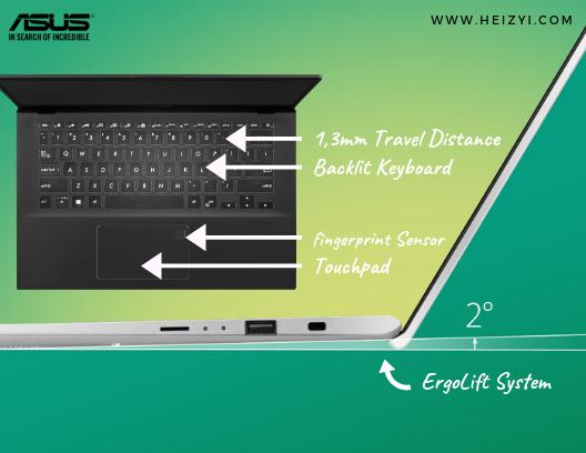 Spesifikasi Keyboard ASUS VivoBook Ultra A412DA