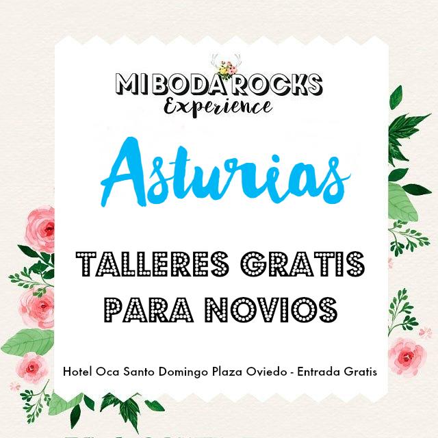 Mi Boda Rocks Experience Asturias - Talleres Gratis