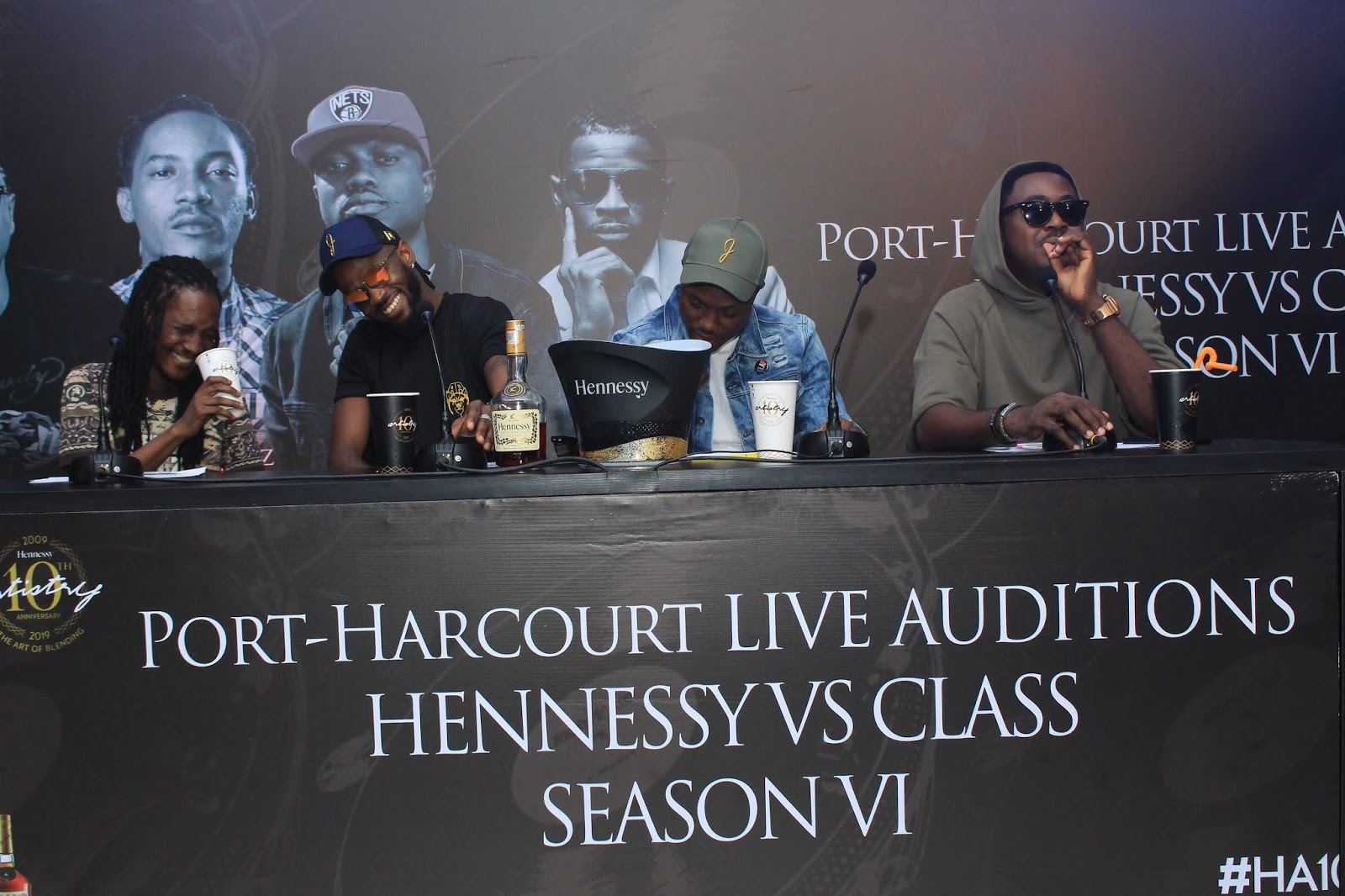 (PHOTOS) HENNESSY VS CLASS ROUNDS UP AUDITIONS WITH THE FINAL ONLINE SUBMISSIONS