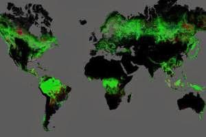 Διαδραστικός χάρτης από το διάστημα δείχνει πώς εξαφανίστηκαν τα δάση