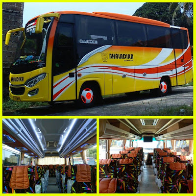Foto Bus yang biasa kami gunakan untuk menjemput tamu dari Jakarta