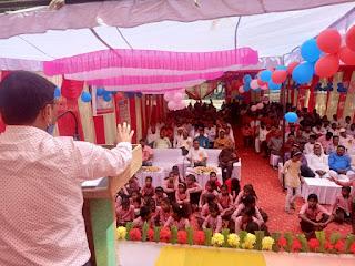 प्रेरणा ज्ञानोत्सव समारोह में छात्राओं ने मोहा मन | #NayaSaberaNetwork