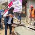 En la colonia Loma del  Rayo  Ixtapaluca se da banderazo a obras