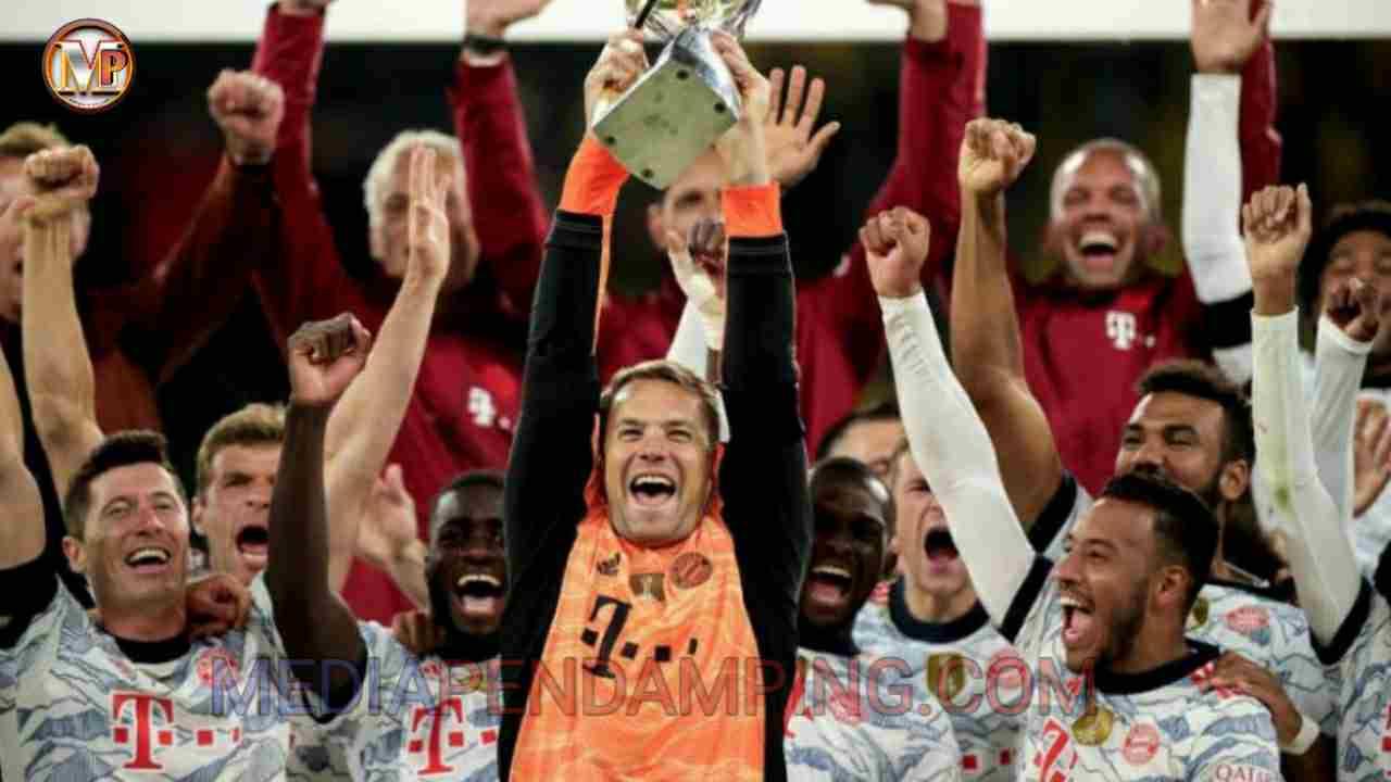 Bayern Muenchen Tambah Koleksi Trofi Piala Super DFL