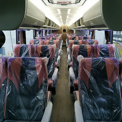 Interior Bus Rosalia Indah