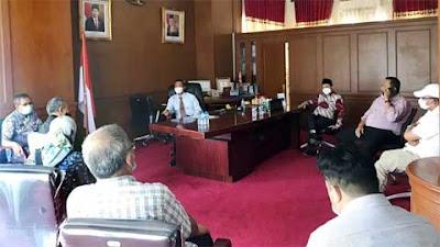 KPP Pratama I Padang Datangi Wako Pariaman