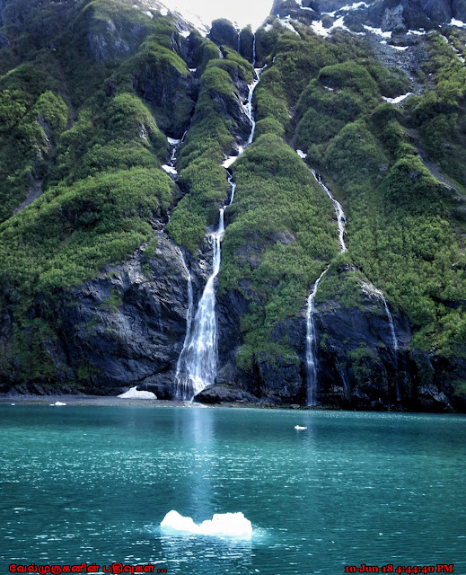 Horsetail Falls Whittier Alaska