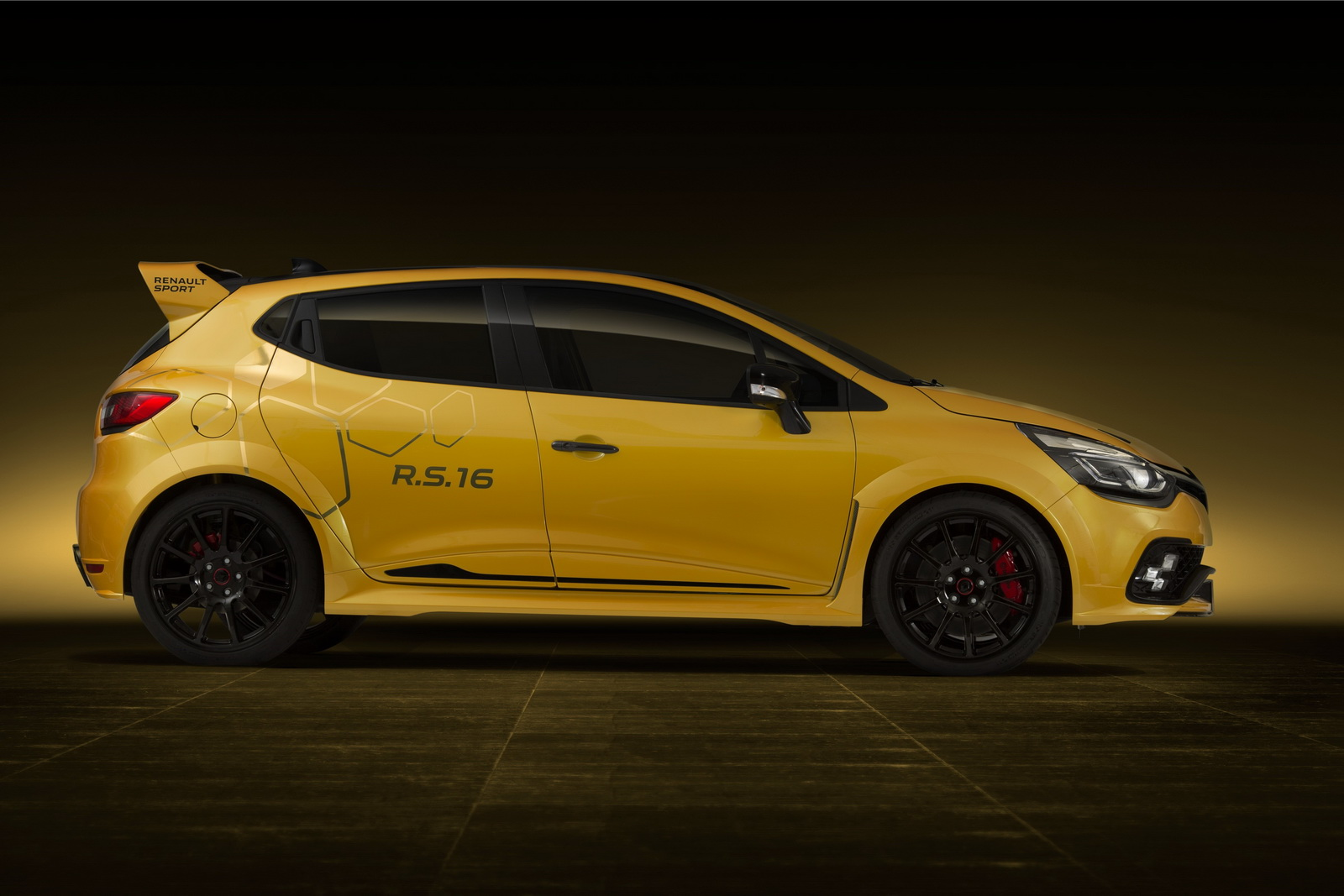 renault reveals crazy special 275hp clio rs 16 concept w video. Black Bedroom Furniture Sets. Home Design Ideas