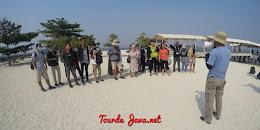 wisata open trip weekend tiga pulau cipir kelor onrust