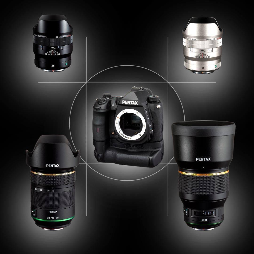Объективы и фотоаппарат Pentax