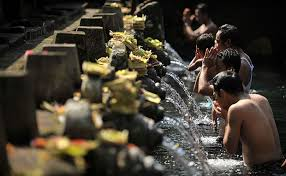 A Spiritual Cleansing With Melukat Ceremony
