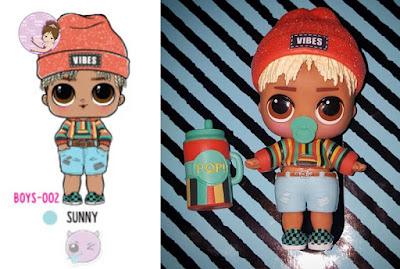 Sunny brother lol surprise doll