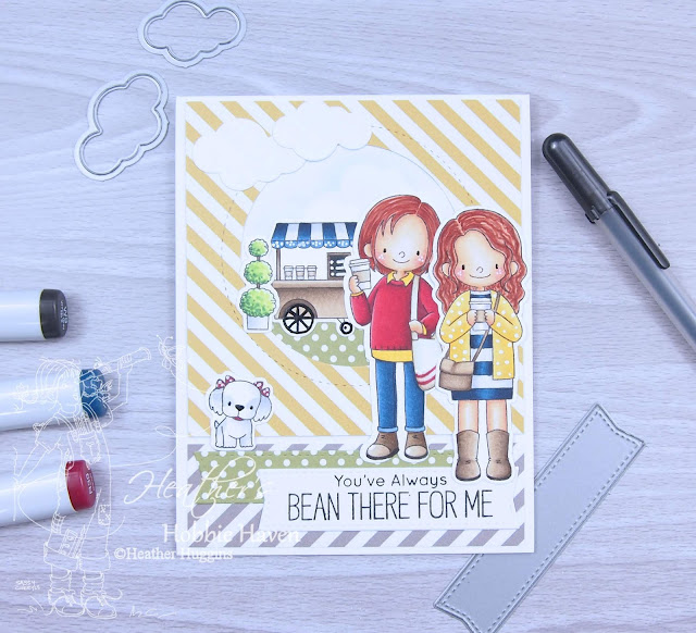 Heather's Hobbie Haven - Friends at First Sip Card Kit
