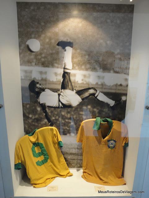 Camisa do Pelé no Museu do Futebol - Montevidéu, Uruguai