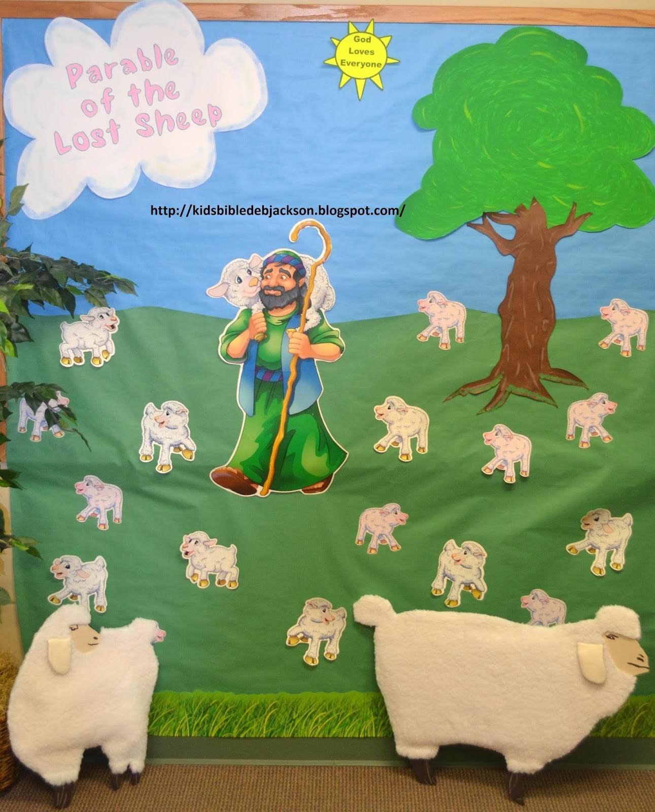 Bible Fun For Kids Parables Of Jesus Vbs Day 3e Lost