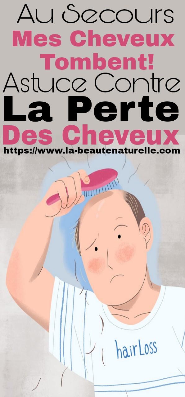 Au secours mes cheveux tombent! astuce contre la perte des cheveux