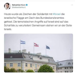 استنكار فايسبوكي حيال موقف المستشار النمساوي تجاه الصراع الفلسطيني الإسرائيلي
