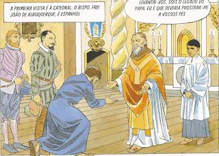 Xavier - o humilde Nuncio papal