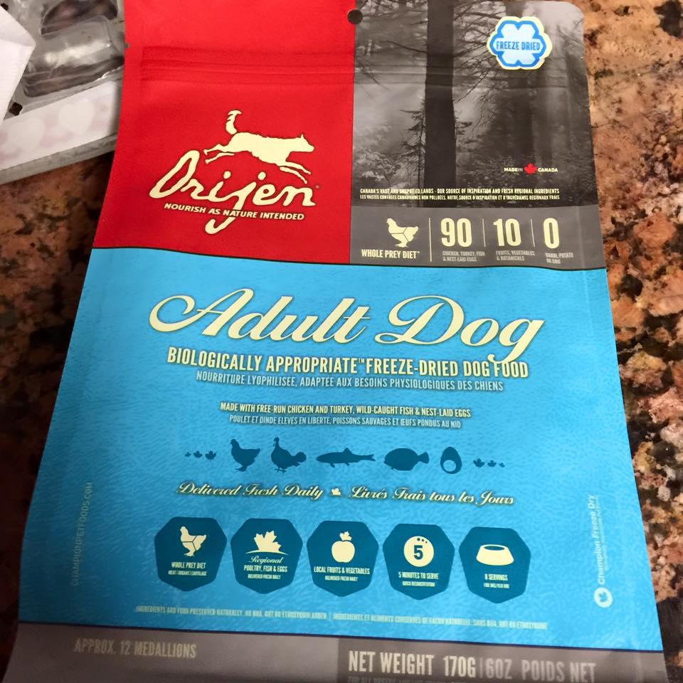 Orijen Dog Food Reviews >> Liz S Life Aspergers Gluten Free Raw Fed Aussies Orijen Freeze