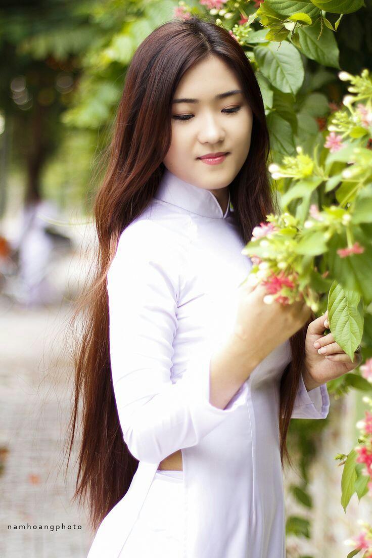 Tuyển tập girl xinh gái đẹp Việt Nam mặc áo dài đẹp mê hồn #60 - 2