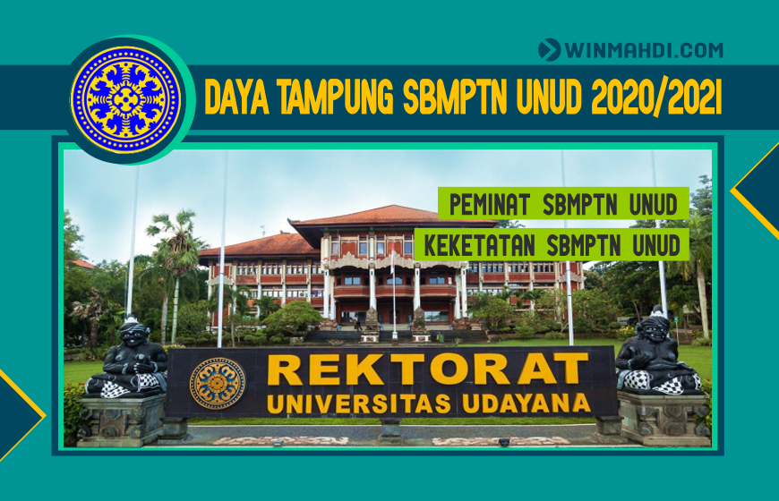 DAYA TAMPUNG SBMPTN UNUD 2020-2021