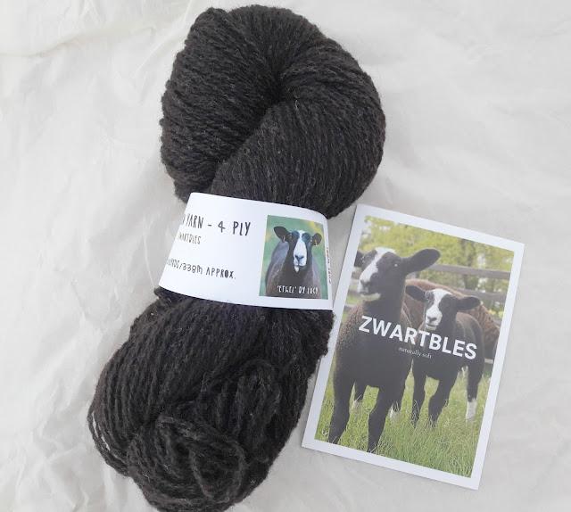 Northern Yarn Zwartbles 4ply
