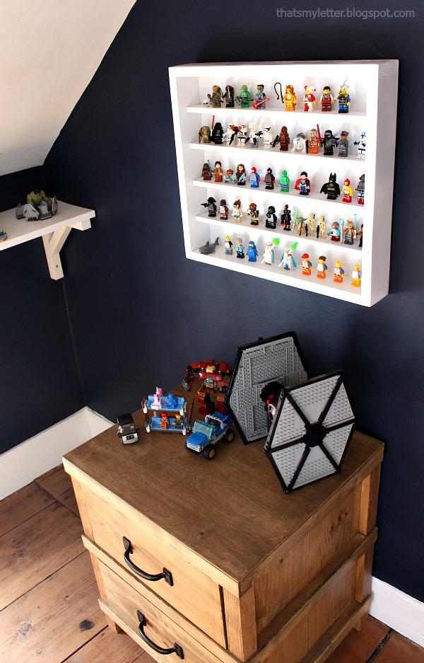 lego minifig storage idea
