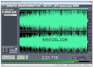 Merekam audio dari mixer tetap jernih
