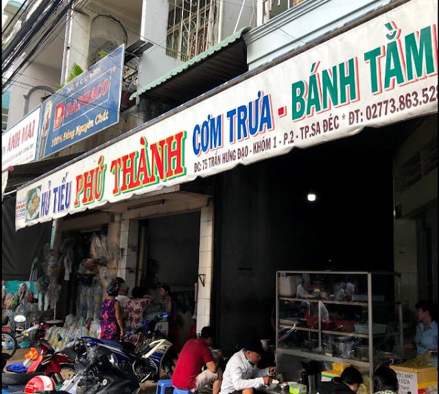 Hủ tiếu Phú Thành Sa Đéc bên ngoài