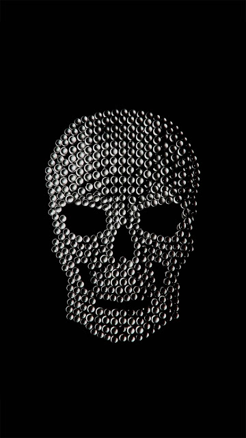 21 Black Mask Skull Art, Horns Skull Ultra HD Wallpapers 4K for Android and iPhone