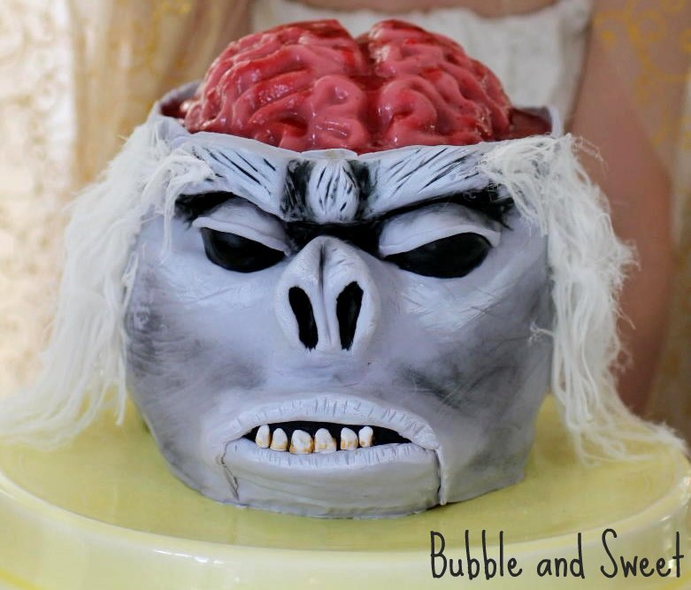 Brain Cake Pops
