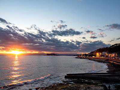 Sagami Bay: Inamuragasaki Cape (Kamakura)