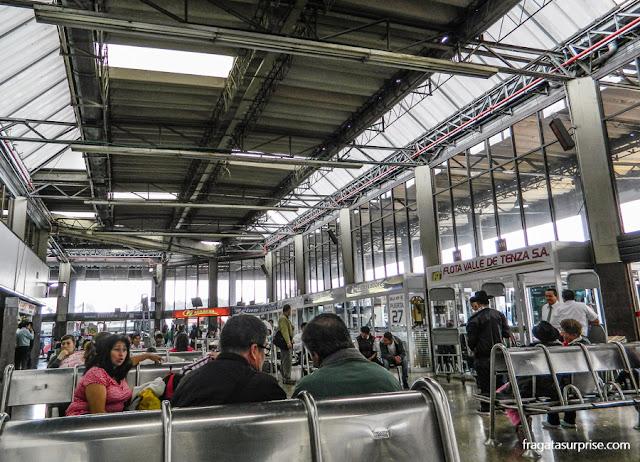 estação Rodoviária de Bogotá, Colômbia