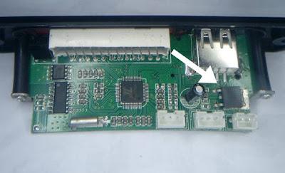Berapa volt tegangan untuk modul USB/FM/MP3 player?