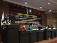 Kukuhkan Pimcab IMM Lamsel Periode 2020-2021, Sekda Thamrin Harap IMM Lamsel Dapat Emban Amanah Organisasi Selalu Bersinergi Dengan Pemda