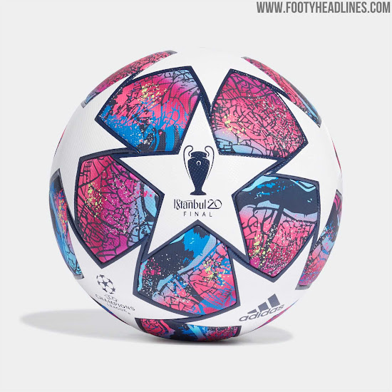 spectacular adidas 2020 champions league final istanbul ball released footy headlines spectacular adidas 2020 champions