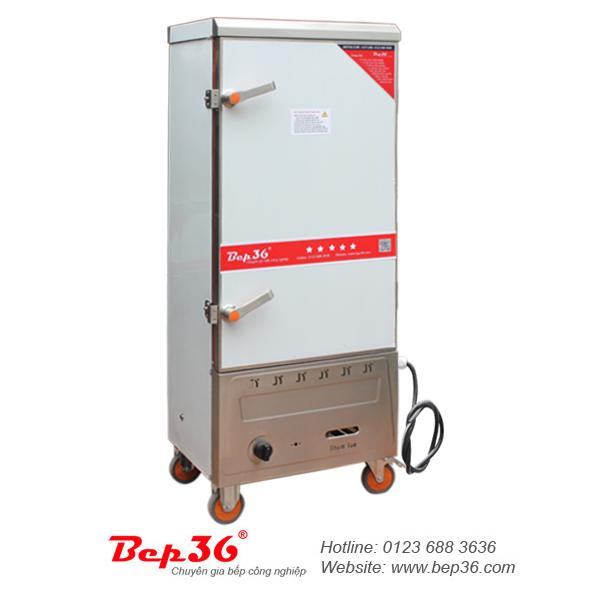 Tủ nấu cơm gas điện 12 khay tại Thanh Hóa