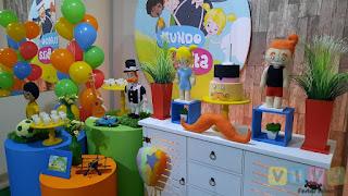 Decoração festa infantil Mundo Bita Porto Alegre