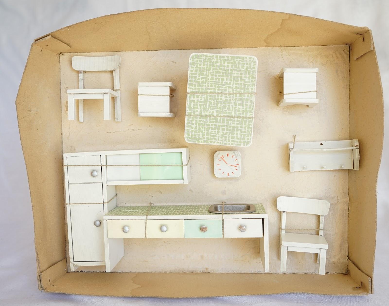 Puppenhaus Zubehör Küche