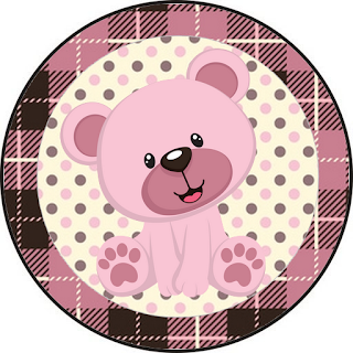Lovely Girl Bear: Free Printable Wrappers and Toppers for Cupcakes.