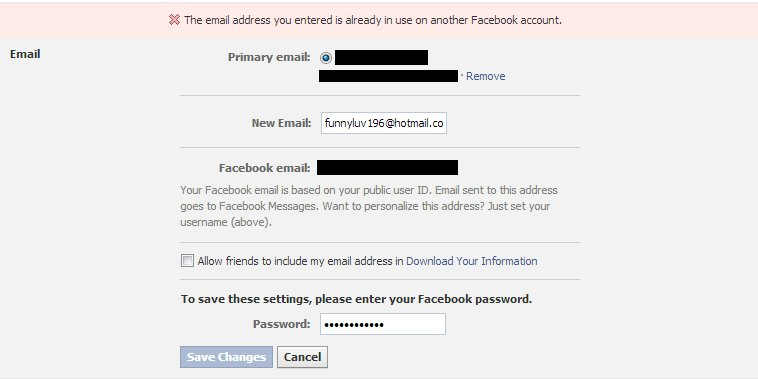 Dan Melamed Security Blog: Hacking Any Facebook Account ...