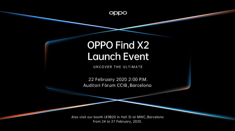 OPPO announces global launch of Find X2 at MWC 2020