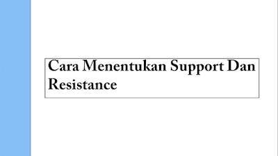 Mengenal Strategi Support Dan Resistance Serta Cara Menggunakannya