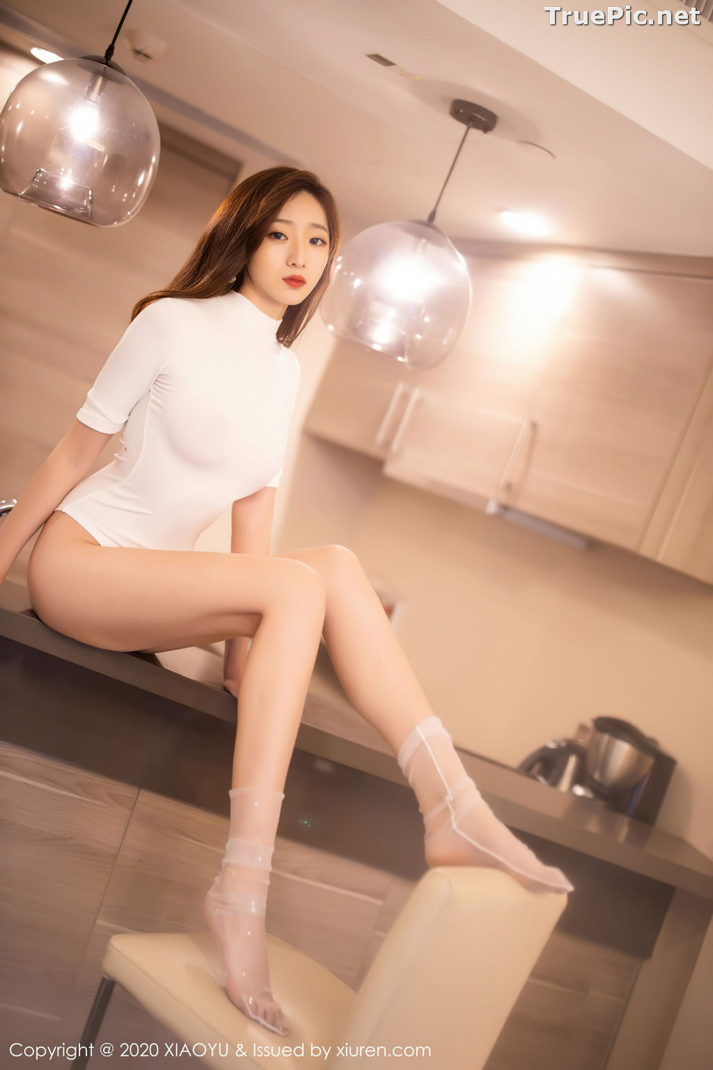 Image XiaoYu Vol.389 - Chinese Model - 安琪 Yee - Beautiful In White - TruePic.net - Picture-10