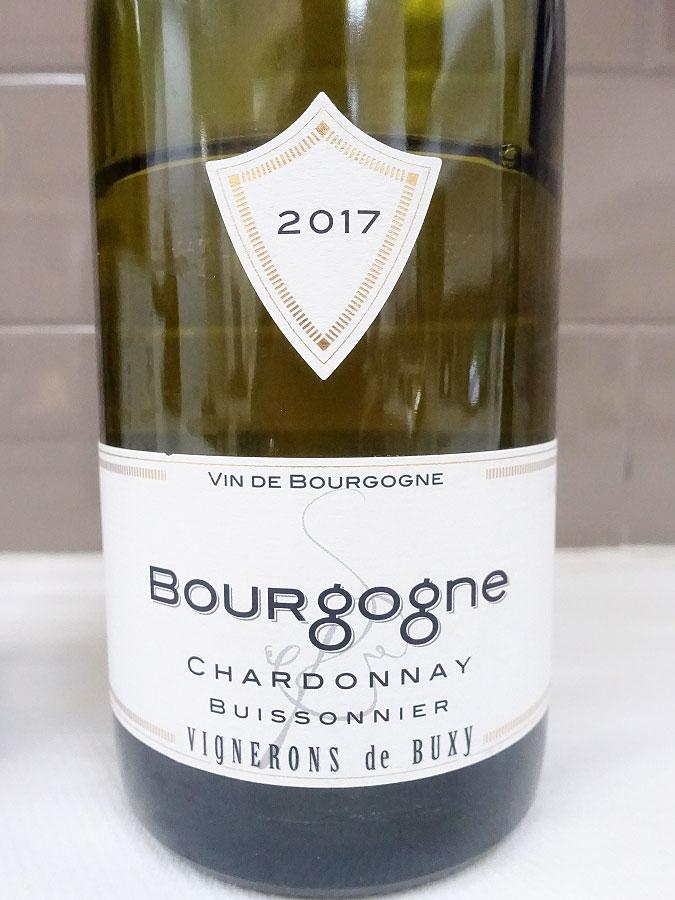 Cave des Vignerons de Buxy Buissonnier Bourgogne Chardonnay 2017 (88+ pts)