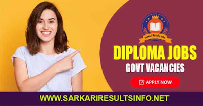 Diploma Jobs 2020,After Diploma Jobs,Govt Vacancies
